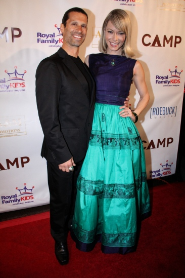 Rich Tola and Stephanie Drapeau at CAMP movie premiere 2/22 (photo by Bob Delgadillo)