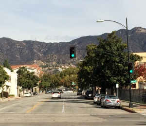 Verdugo Mountains in Burbank, CA